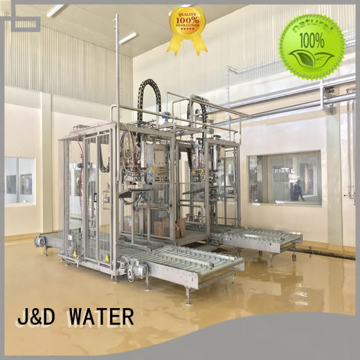 J&D WATER larger capacity bagging machine good quality for oil