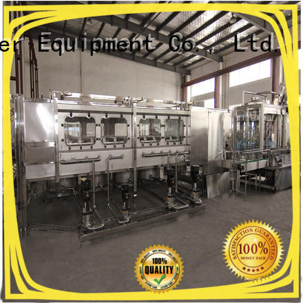 larger capacity bottling equipment convenient for milk