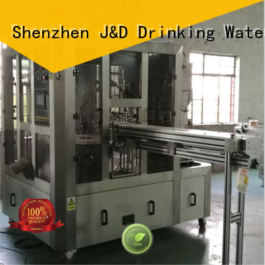 J&D WATER automatic bagging machine high automation for beverage