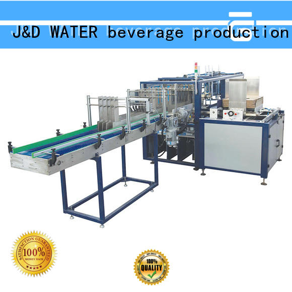 J&D WATER cartoning equipment reduce cost for chemistry