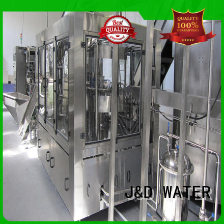 J&D WATER intelligent liquid packing machine good quality for juice