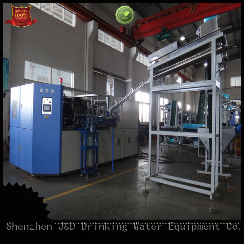 J&D WATER Automatic injection blow moulding machine effortlessly for beverage