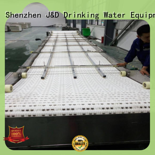 J&D WATER chain conveyor high efficiency for drinking water