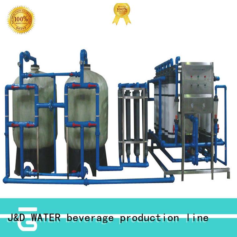 easy operation water plant machine softenerwater