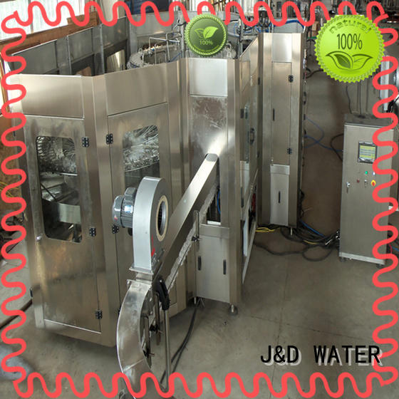 intelligent mineral water filling machine convenient for Glass bottles