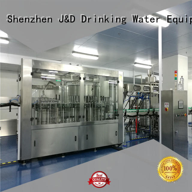 J&D WATER easy operation water bottling equipment convenient for juice