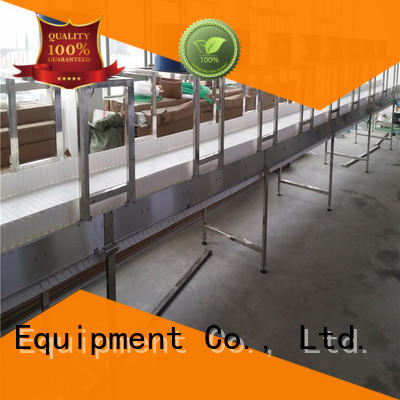 J&D WATER chain conveyor stainless steel for daily chemical