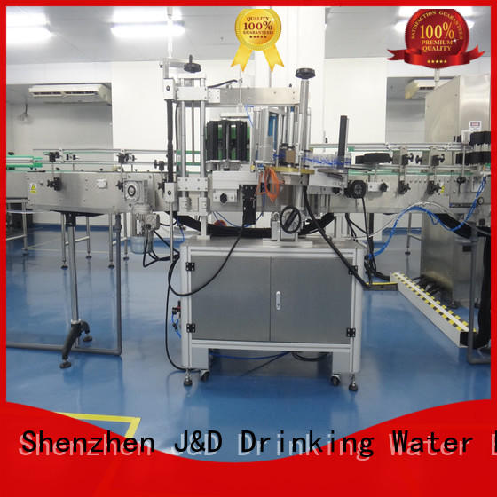jnd650 automatic sticker labeling machine jnd630 for glass bottle J&D WATER