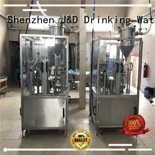 J&D WATER larger capacity cup filling machine filling for container