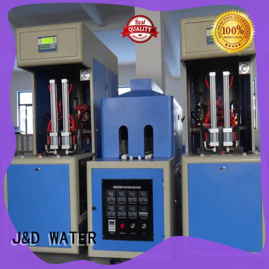 J&D WATER stretch blow moulding machine for sale for oil bottles