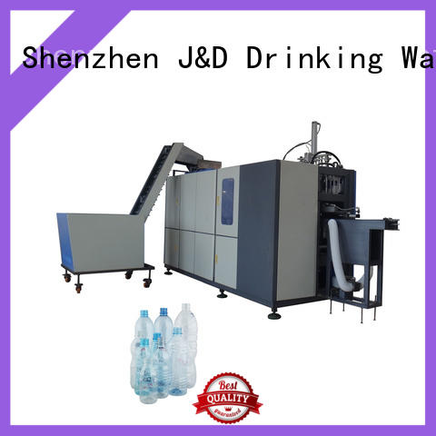 J&D WATER standrad semi automatic pet blowing machine price stable for package