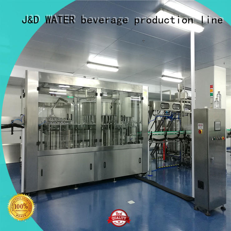 J&D WATER larger capacity plastic bottle sealing machine complete function for sauce