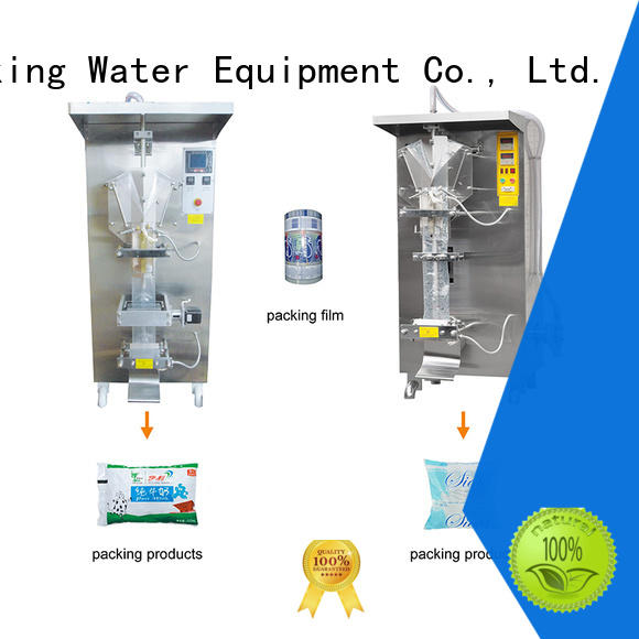 bag packing machine aseptic Glass bottles J&D WATER
