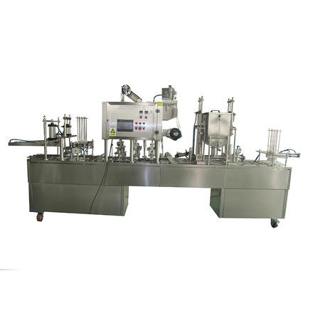 J&D WATER easy operation cup filling machine stainless steel mineral water