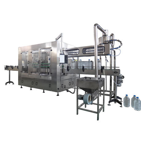 liquid filling machine water PET J&D WATER