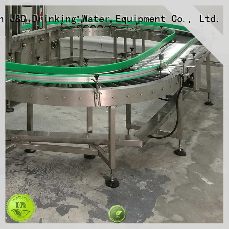J&D WATER gravity gravity roller conveyor high efficiency for drinking