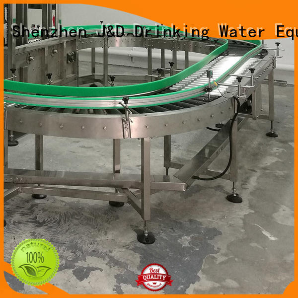 J&D WATER easy transport gravity conveyor high efficiency for beverage