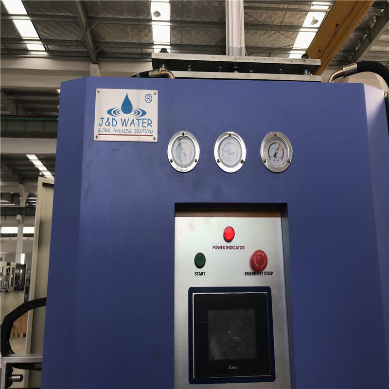 high quality injection blow moulding machine safely for mineral water-1