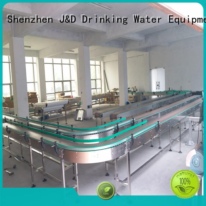 stainless material chain conveyor conveyor J&D WATER Brand