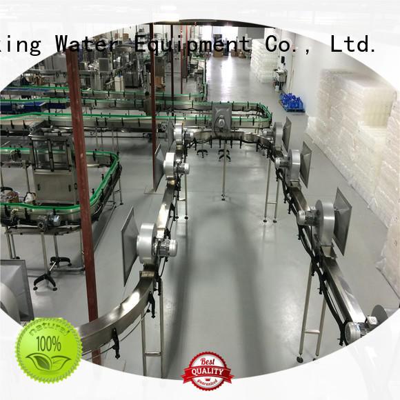 pet bottle conveyor stability for beverage, J&D WATER