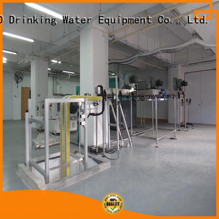 J&D WATER easy operation air conveyor conveyor for drinking