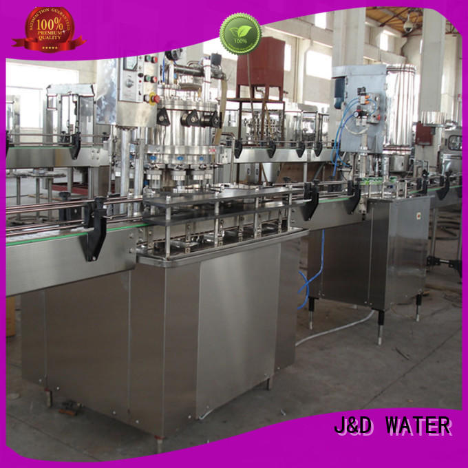 J&D WATER can sealing machine factory for package