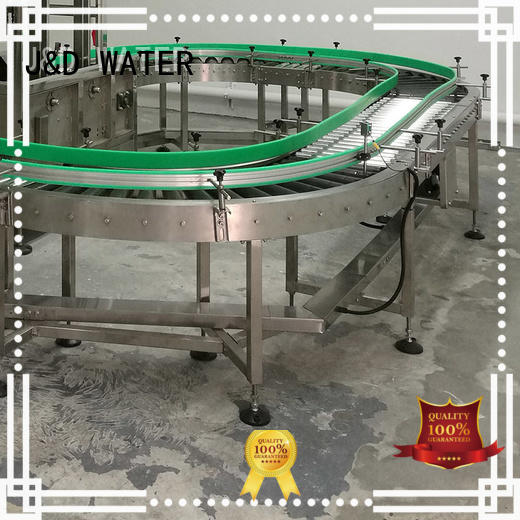J&D WATER high quality conveyors for sale stability for food