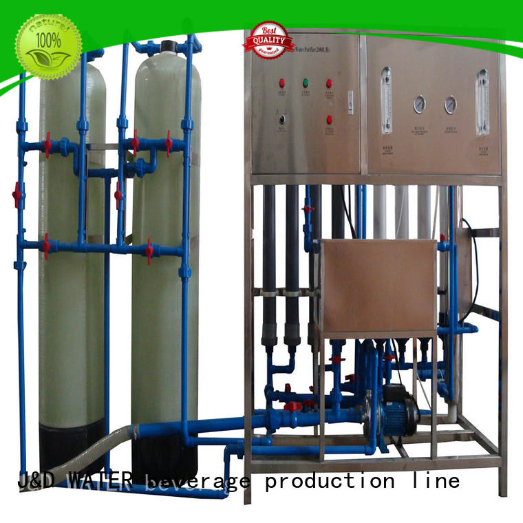 J&D WATER energy saving water purifier machine for plant purifier for wastewater