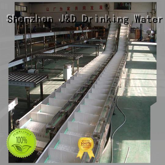 easy transport slat conveyor stability for food