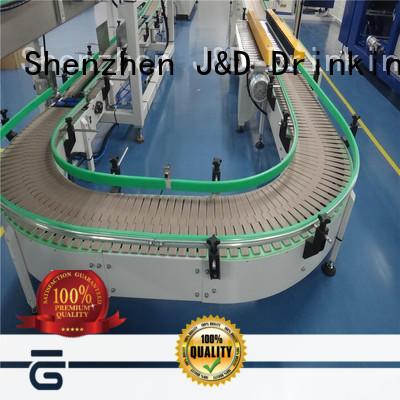 J&D WATER energy saving slat conveyor high efficiency for daily chemical