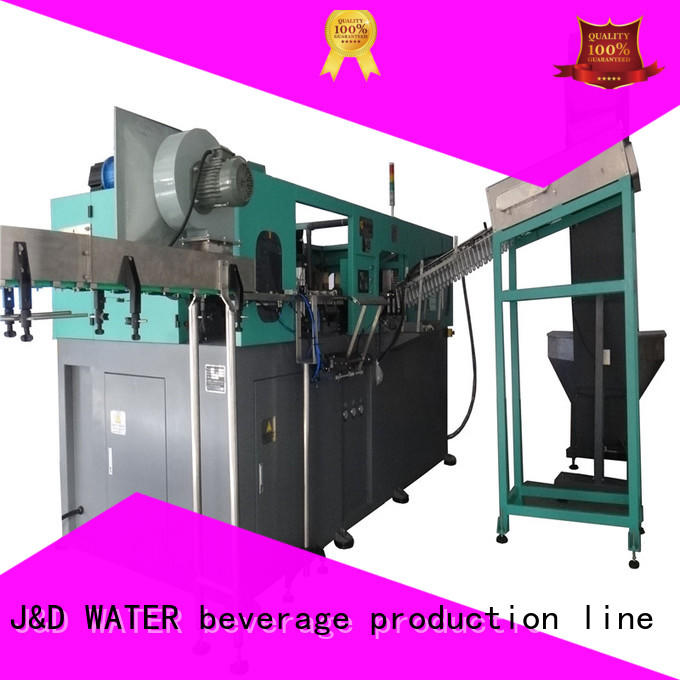 J&D WATER water bottle making machine safely for package