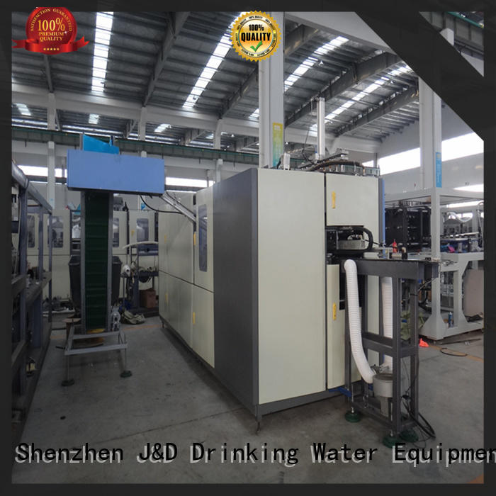 speed pet blowing machine stable for hot infusion J&D WATER