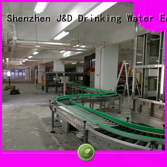 J&D WATER easy operation gravity roller stability for food