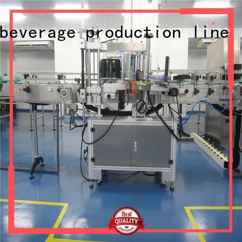 fast automatic sticker labeling machine intellectual control for plastic bottle