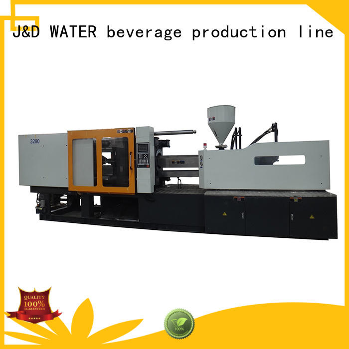 J&D WATER plastic injection molding machine molding for mold making