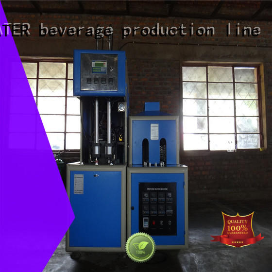 semi-automatic blow molding machinery stable for mineral water bottles