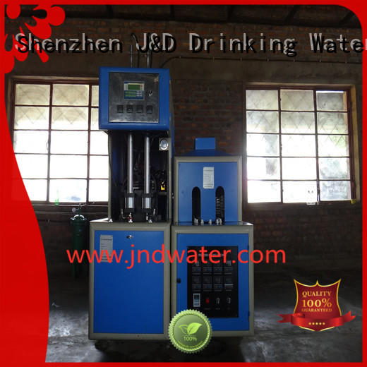 Quality J&D WATER Brand molding automatic blow moulding machine