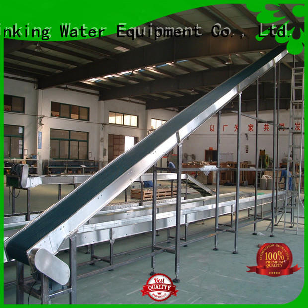 J&D WATER climbing conveyor chain manufacturers high efficiency for daily chemical