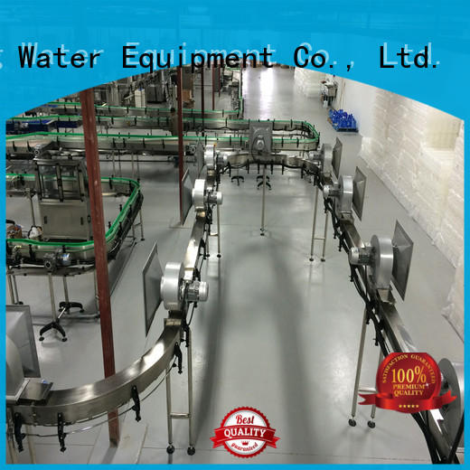 air conveyor systems line bottle conveyor J&D WATER Brand air conveyors