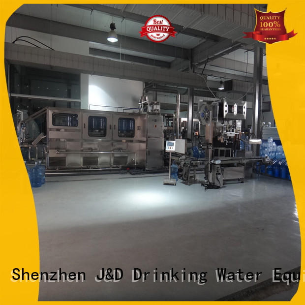 J&D WATER aseptic machine convenient for PET