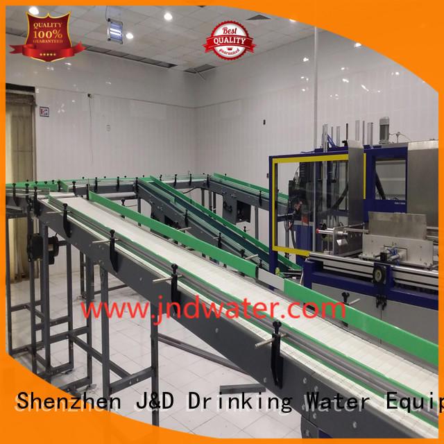 цепной конвейер цепной ленточный конвейер из нержавеющей компании J & D WATER