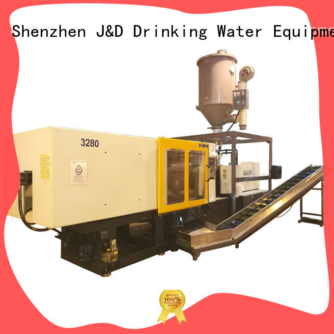 easily operation plastic injection molding machine for sale for PET preform