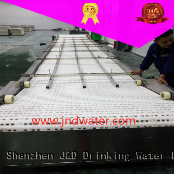 steel conveyor material chain conveyor J&D WATER