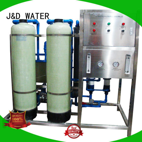 J&D WATER mineral water machine purifier for treatment plants