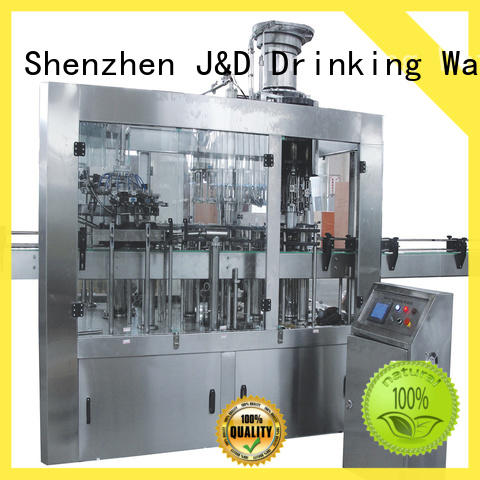 J&D WATER advanced technology automatic liquid filling machine high automation for juice