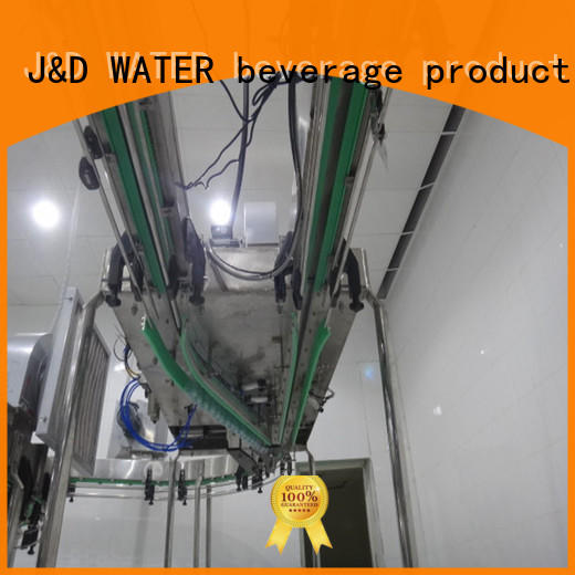 J&D WATER conveniently bottle conveyor manufacturer for water