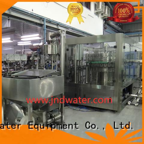автоматическая разливочная машина для бутылок J & D WATER Brand