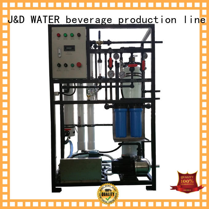 J&D WATER desalination machine high purity for drinking