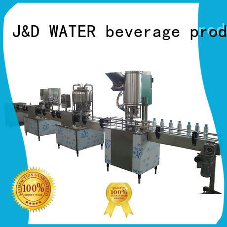 J&D WATER easy operation liquid packaging machine convenient for juice