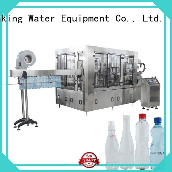 machine easy automatic bottle filling machine operate J&D WATER company